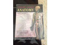 Clinically orientated anatomy textbook