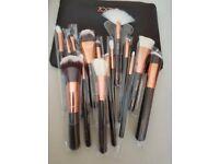 Zoeva 15 piece makeup brushes