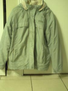 aubaine manteau bleu d ' hivers de marque point zéro gr small