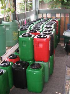 Bidon/Baril étanche de 20 litres pour Kit de Survie