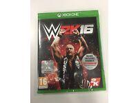WWE 2k16 Xbox one wresting game 2016