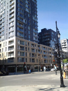 Downtown Le Seville, 2½ luxury condo for rent, On Ste Catherine