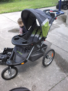 Baby expedition jogging stroller