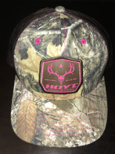 NEW LADIES HOYT OUTFITTERS CAP (Camouflage) Adjustable
