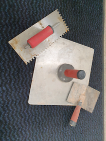 Marshall Town trowel and board