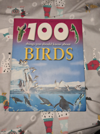 100 things you should know about birds book