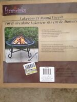 """Lakeview 23"""" round firepit"""
