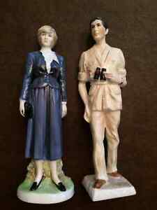 Coalport Prince of Wales and Lady Diana Spencer Figurines HTF London Ontario image 1