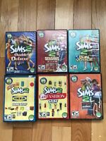 Sims 2 double Deluxe  + 5 extension packs for PC