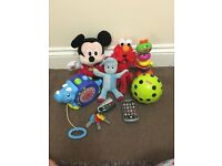 Disney, fisherprice, Elc, little tykes Baby toys, in the night garden