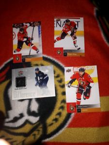 Hockeys cards and posters