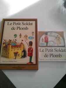 Le petit soldat de plomb / The little tin soldier with cd