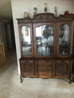 China cabinet and Buffet for sale