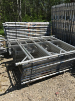 Boss Aluminum Scaffold (Perfect for Residential Painting)