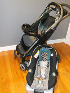 Graco Stroller with Detachable Car Seat