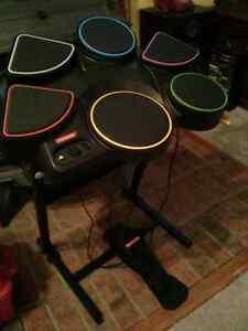 Konami Rock Revolution wired Drum for Playstation 3 guitar hero
