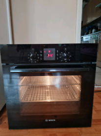 Bosch multifunction single electric oven built-in black 60cm