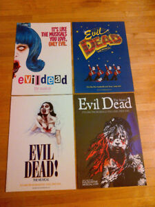 Evil Dead The Musical Collectibles