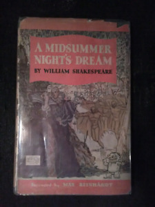1935 a midsummer nights dream w dust jacket