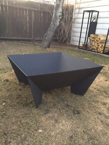 "Brand new premium 36"" custom steel fire pit"