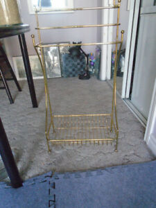 Brass Fireplace Hearth, and Log Rack.
