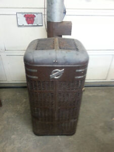 Oil stove / Oil heater - Try your trade - Riding mower?