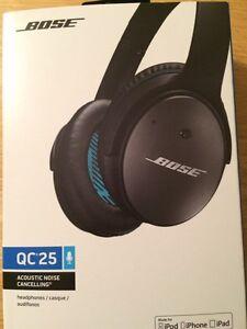 Écouteurs / Casque d'écoute Bose QC 25