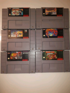 Selling SNES Games And Console