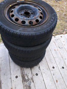 4   14 inch civic tires and rims