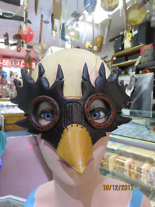 MORE BRUCE HARDY HANDMADE LEATHER MASKS!