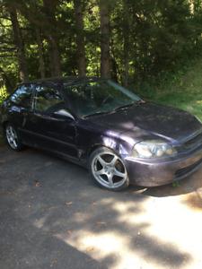 1998 Honda Civic  DX Hatchback Coupé (2 portes)
