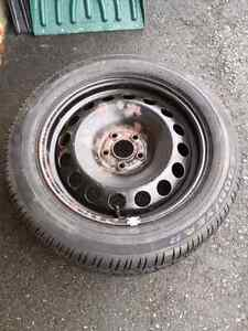Vw golf jetta spare tire '99 to '05 NEW