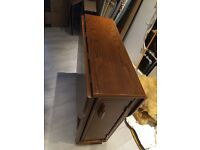 Fold down table & 2 chairs