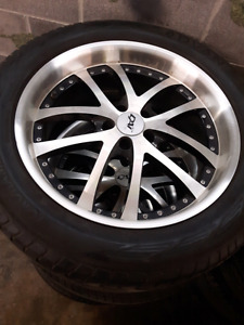 Mags with tires 265 50 R20  111W