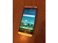 Htc m9 gold 32GB on o2