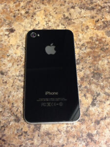 UNLOCKED Apple iPhone 4 16 GB (Black)