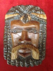 Hand Carved Wood Wall Plaque  3 TO CHOOSE FROM $25 EACH
