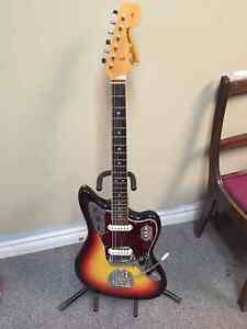 1966 Fender Jaguar with Original Case and Strap