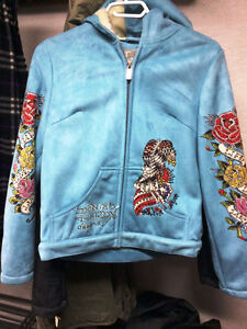 Two Ed Hardy Women's Jacket (priced separately, $50 each)