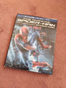 The Amazing Spider-Man 3D Blu-ray combo (NEW!)