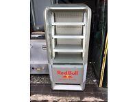 Red bull chiller merchandising fridge