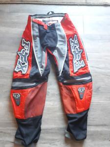 Fox dirt biking pants