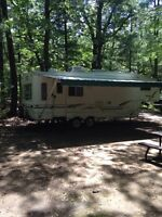 Affordable camping