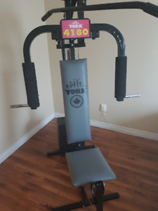 [ York 4180 Home Gym ] 180 LBS max weight