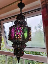 Moroccan stile Ceiling lamp.