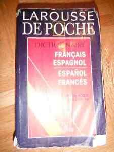 larousse de poche - francais/espagnol-espanol/frances - bon etat