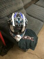 CKX dirt bike and atv helmet