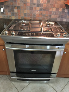 Duel Fuel Stainless Steel Oven