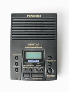 Panasonic répondeur téléphonique numérique