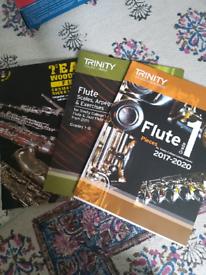 Trinity music syllabus Flute books